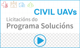 Vídeo da Xornada sobre as licitacións da fase solucións da Civil UAVs Initiative